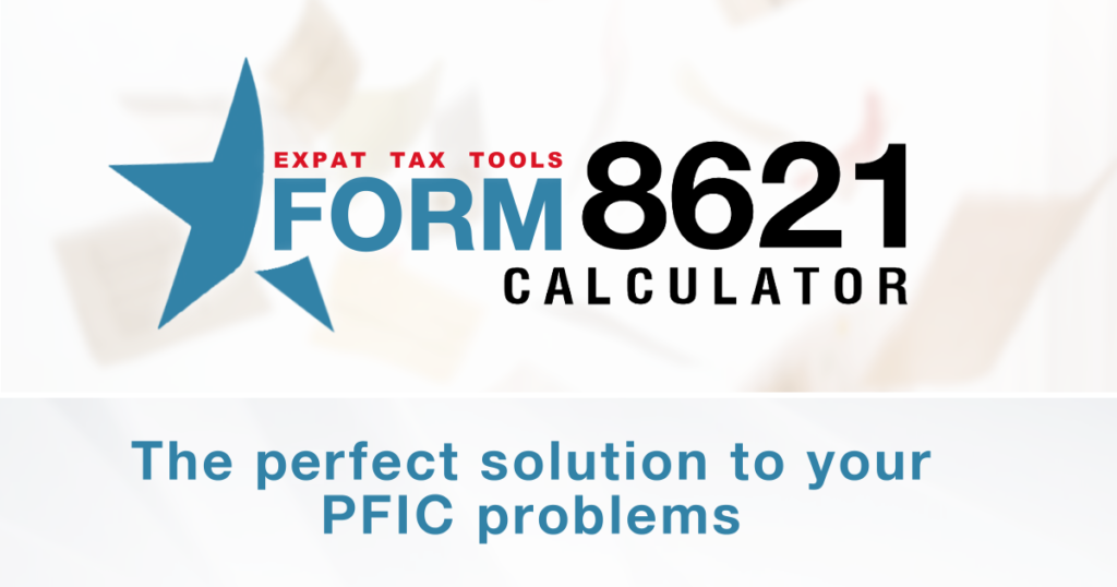 Mark to Market - PFIC Taxation under Section 1296 - Form